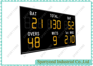LED Electronic Digital Cricket Scoreboard