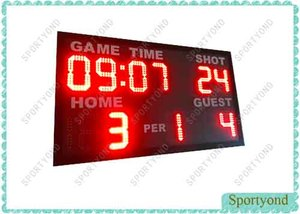 Small Electronics Basketball Scoreboard
