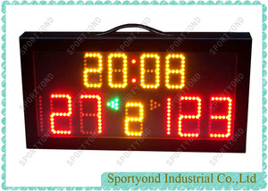 Portable Handball Electronic Digital Scoreboard