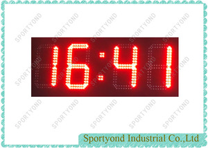 Electronic LED Clock Board