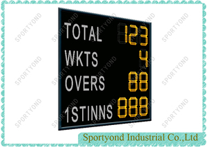 Cricket Electronic Digital Scoreboard