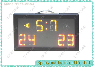 Portable Volleyball Electronic Scoreboard