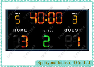 Football Electronic Scoreboard Futsal Digital Scorer