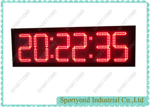 LED Digital Time Board Display