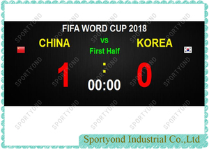 Football Soccer Futsal Game Score Software System