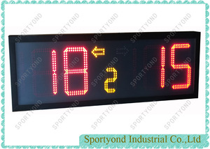 Electronic Digital Scoreboard with Built-in Battery Support