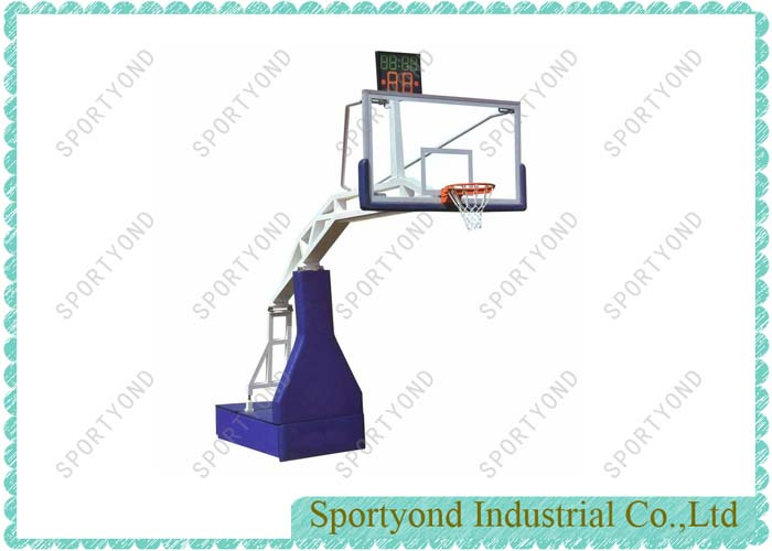 Electro-hydraulic Basketball Stand