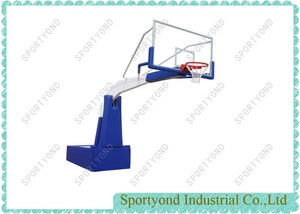 Manual-hydraulic  Basketball Stand for FIBA