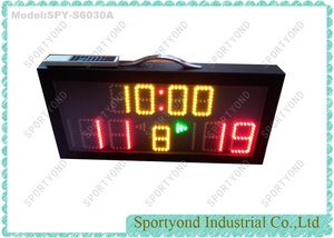 5-a-sided Futsal Digital Mini Scoreboard