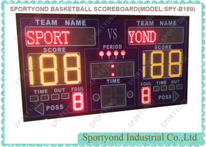 Sports Scoreboard for Basketball Handball Volleyball Floorball
