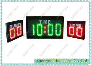 Portable Futsal Football Soccer Rugby Digital Electronic Scoreboard