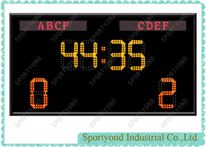 LED Digital Electronic Football Scoreboard