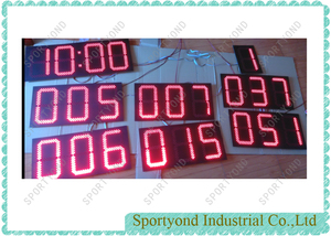 Electronic Parts for Australia Football Scoreboard